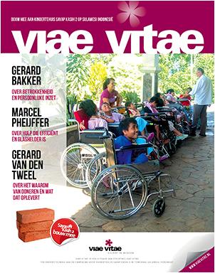 Ontvang het Viae Vitae magazine. Gratis.
