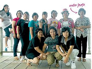 Team kindertehuis Sayap Kasih