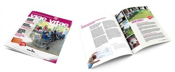 magazine cover + binnewerk totaal